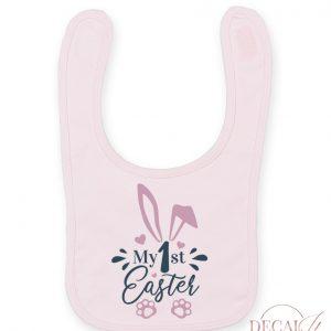 My First Easter Bib Pink