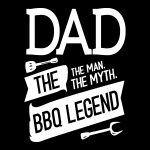 Dad The Myth The Legend Design