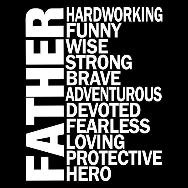 Father Adjective Apron Design
