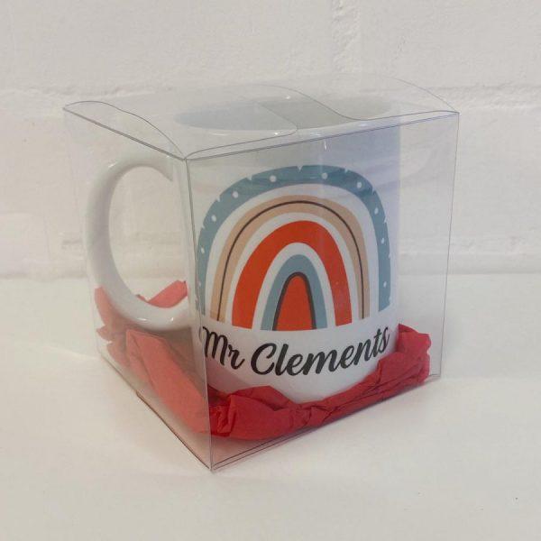 Rainbow Mug Packaged