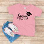 Nursery Done T Shirt Light Pink