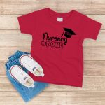 Nursery Done T Shirt Red