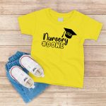 Nursery Done T Shirt Yellow