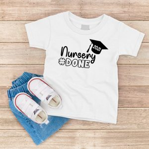 Nursery Done White T Shirt
