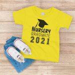 Nursery Graduate 2021 Yellow T-Shirt