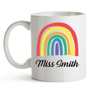 Rainbow Mug Front