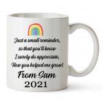 Rainbow Mug Rear