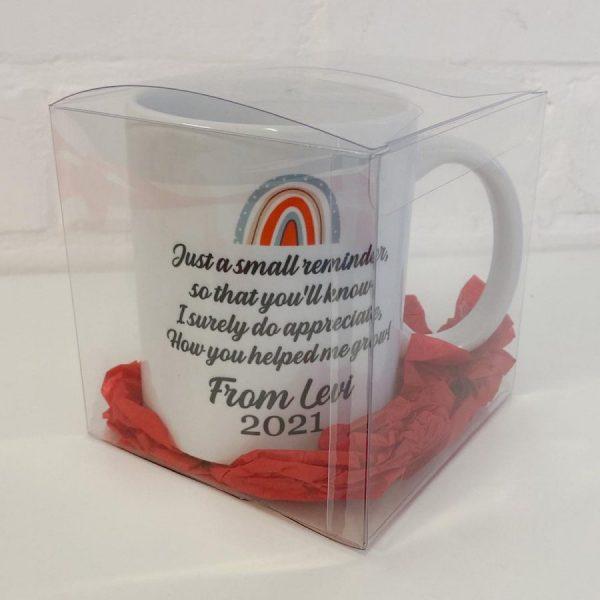 Rainbow Mug Packaged Rear