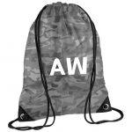 Initial Letters Drawstring Bag