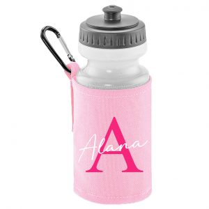 Initial Letter and Script Name bottle