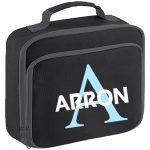 Initial Letters and Bold Name Lunch Box