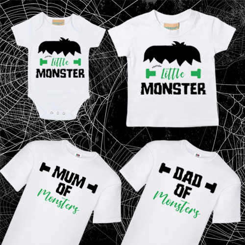 Family of Monsters Tee