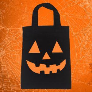 Pumpkin Face Treat Bag