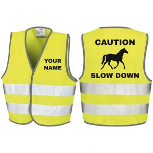 Fluorescent Yellow Caution Slow Down - RS200B